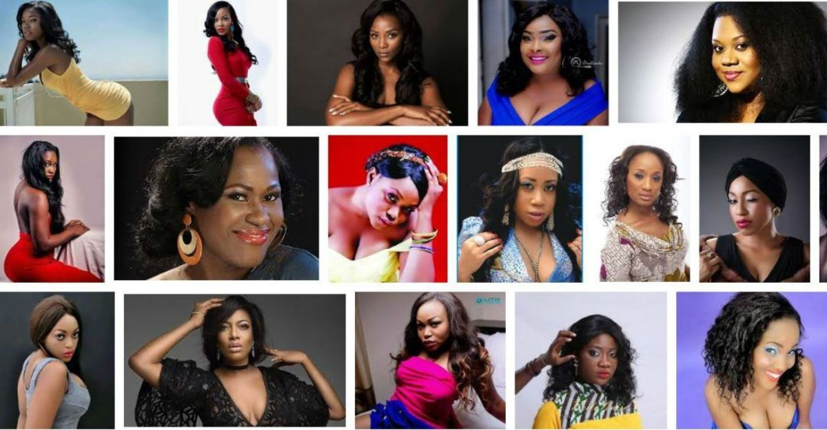 Top 20 most beautiful actresses in Nigeria 2